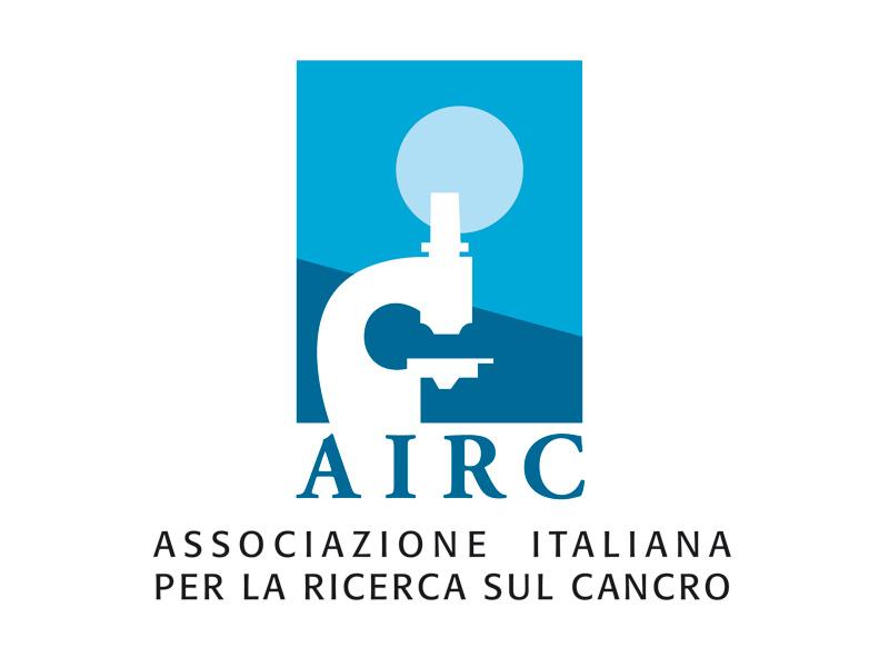 Immagine del logo dell' Associazione Italiana per la Ricerca sul Cancro