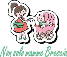 """Logo dell' associazione """"Non solo mamme Brescia"""""""